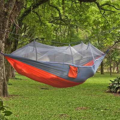 Double Person Travel Outdoor Bed Camping Tent Hanging Hammock With Mosquito Net