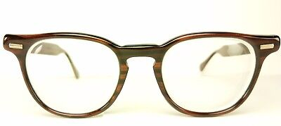 Rare Vtg 1950's Titmus Redwood Eyeglasses 44-22 Great Condition Tart Arnel Style
