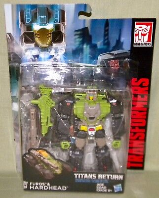 FUROS & HARDHEAD Transformers Generations Titans Return 2016 Deluxe Class