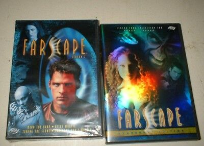 2 dvd lot - farscape  season four collection 2 updated expanded & season 2