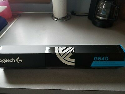 Logitech G640 Large Cloth Gaming Mouse Pad-Brand New TSM version