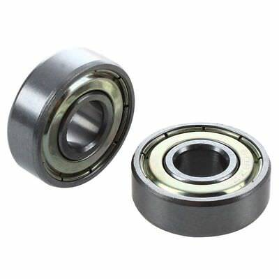 2 x 608ZZ 8 x 22 x 7mm Shielded Deep Groove Radial Ball Bearing F9W6