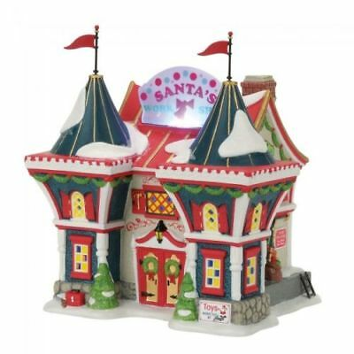 Department 56 Santa's North Pole Workshop North Pole Series NEw