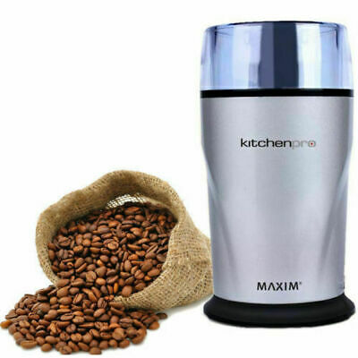 Electric Herbs/Spices/Nuts/Coffee Bean Grinder Grinding Mill Camping Caravan