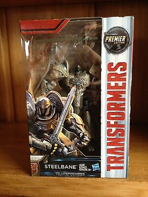 Transformers The Last Knight TLK Premier Edition Deluxe Steelbane MISB