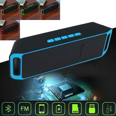 Bluetooth Rechargeable Wireless Speaker Portable Outdoor USB/TF/FM Radio Stereo