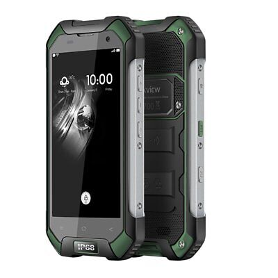 """Blackview BV6000 4.7"""" 4G Android 6.0 32 GB 13MP IP68 imperméable Smartphone vert"""