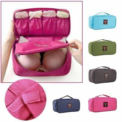 Waterproof Travel Clothes Storage Bags Luggage Organizer Pouch Packing Cube