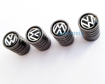 Universal 4pcs Car  Wheel Tire Air Valve Caps Stem Dust Cover for Volkswagen VW