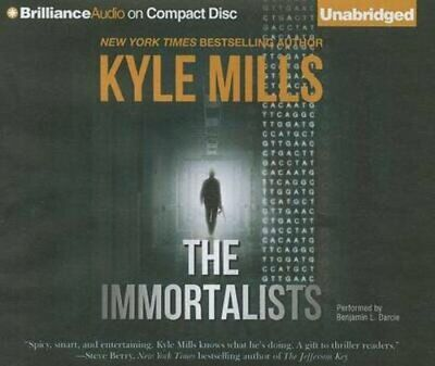 The Immortalists by Kyle Mills: New
