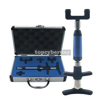 Chiropractic Adjustment Tool Spine Correct Gun Pulse Activate Therapy Correction