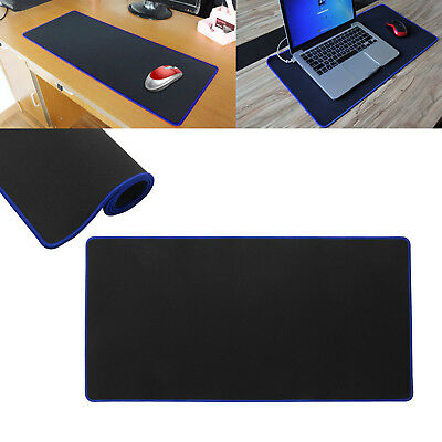 BLUE 60 x 30 EXTRA LARGE XL GAMING MOUSE PAD MAT FOR PC LAPTOP MACBOOK ANTI-SLIP