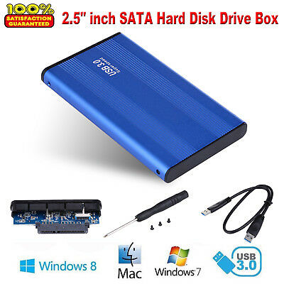 "USB 3.0 2,5"" SATA HDD Externe Festplatte Box PC Desktop Mobile Hard Disk Case"