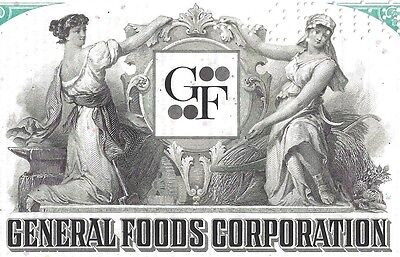 General Foods Corporation 1975, 7 1/2% Note due 1984 (25.000 $)
