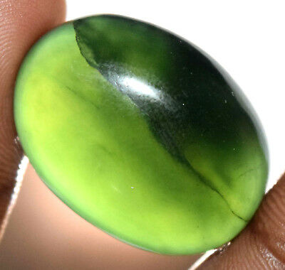 63.05Ct Natural Dark Green Serpentine Untreated Earth-Mined Cabo Top Quality Gem