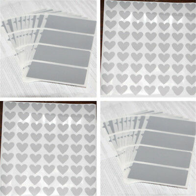 Silver Adhesive Scratch Off Labels Stickers Rectangle Games Cards Tickets Lot