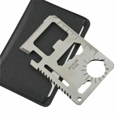 Multifunction Survival Card New EDC Knife Multi Camping Tool