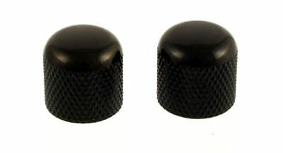 Pair of Water Buffalo Horn Dome Knobs for Electric Guitar and Bass