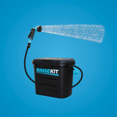 Dog / Bike / Car / Fishing / Camping - Totally portable Rinse Kit -Great Product