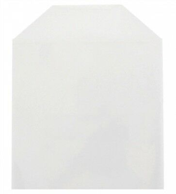 5000 CPP Clear Plastic Sleeve with Flap 6.25 x 5.75 (No Stitches)