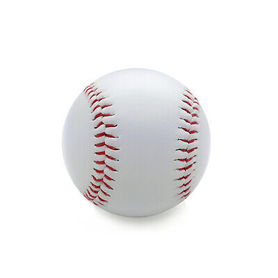 Baseball mit Gummikern u. rote Nähte Base Ball Softball Trainingsball Spielball
