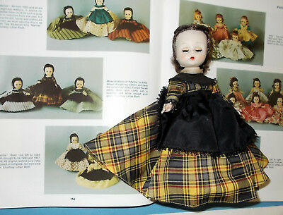 "Vintage 7 1/2"" Madame Alexander-kins Doll Marme All Original  1955"