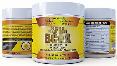 BCAA Premium Plant Base BCAA With L-Glutamine Branched Chain Amino Acid 2:1:1