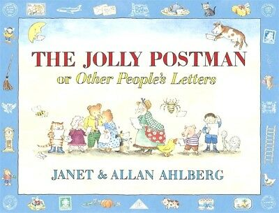 NEW The Jolly Postman By Janet Ahlberg Hardcover + FREE TEACHERS PACK