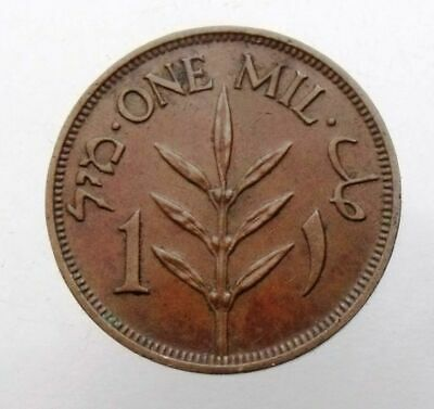 Palestine - British Mandate 1 Mil 1927 Or 1939  Or 1942 Rare Old Coin