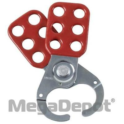 "Brady 133161, Lockout Safety Hasp, 1"" Inside Jaw"