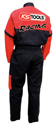 KS Tools Overall, rot/schwarz, M