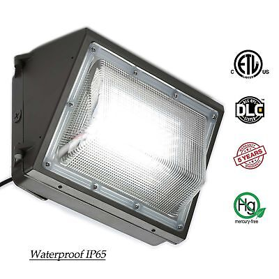 70W 100W 125W Led Wall Pack Light with Photocell Outdoor Security Lights Fixture