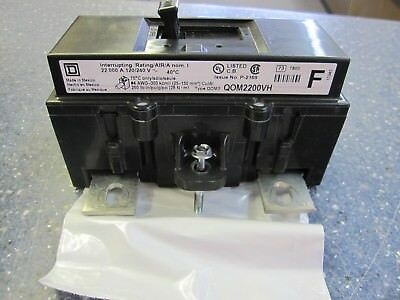 Square D  QOM2200VH  200 amp  Main Circuit Breaker For QO Homeline panel