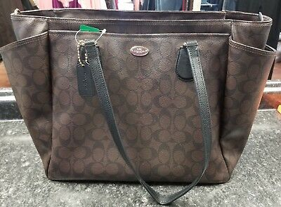 Coach Signature Baby Diaper Bag
