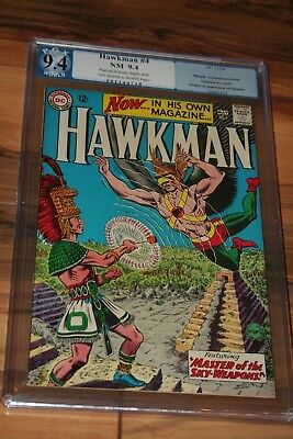 Hawkman #1 Pgx/cbcs/cgc 9.4 Fantastic Book!! Unrestored