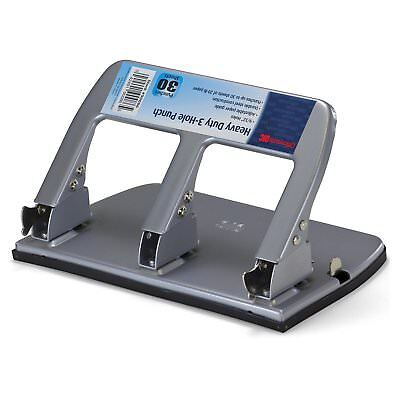 Officemate Paper Puncher 3 Three Hole Punch Heavy Duty Metal Large Office Tools