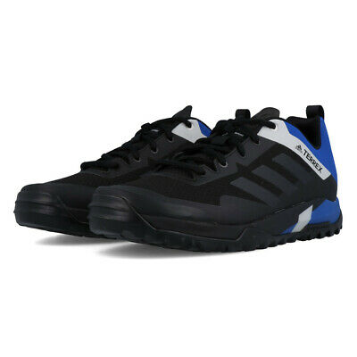 adidas Mens Terrex Trail Cross SL Shoes Black Blue Sports Breathable Trainers