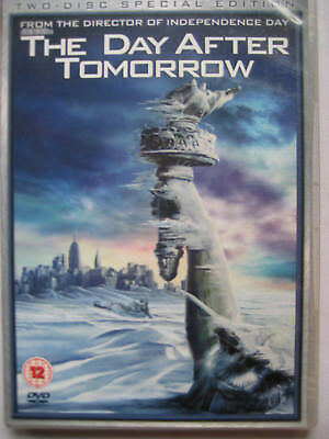 The Day After Tomorrow (DVD, 2004, 2-Disc Set) PAL Region 2