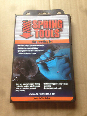 Noxon Spring Tools Metalworking Chisel and Punch Set, AMA996
