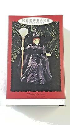 Hallmark Keepsake Ornament Wizard of Oz Wicked Witch of the West 1996