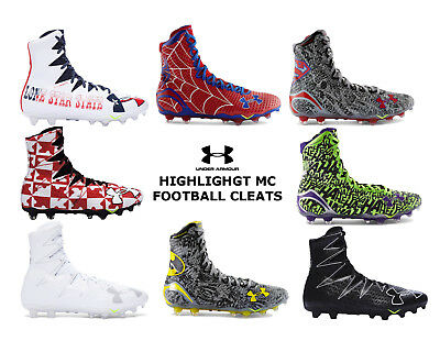 b1c9576a7 Under Armour Highlight MC Football Cleats LIMITED EDITION - Pick Size Color  NEW
