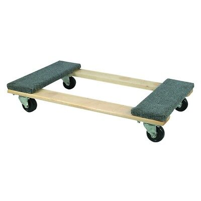 Moving Dolly 30 In x 18 In 1000 lb. Capacity Hardwood Dolly