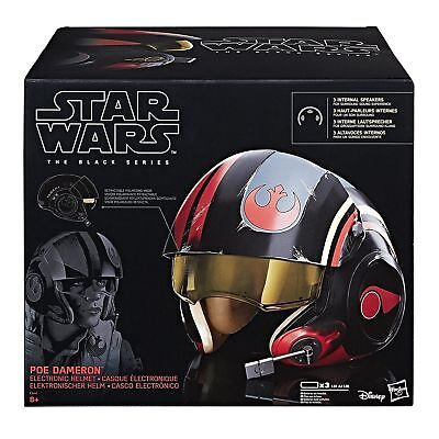 Star Wars Poe Dameron Helm Hasbro Black Series TOP Zustand