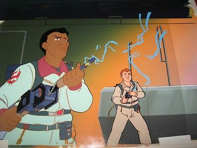 Real Ghostbusters Original Production Cel & Original Production Background