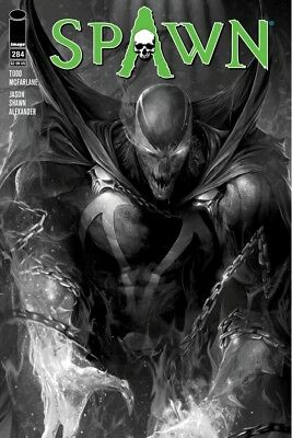 SPAWN #284 COVER B B&W MATTINA Image Comics NM Presale 4/4/2018