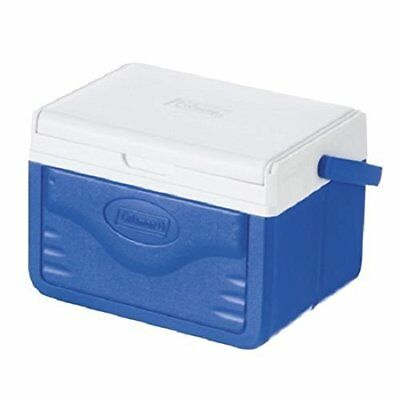 Small Cool Cold Fridge Box With Reversible Lid Tray Portable Coleman 4.7L New