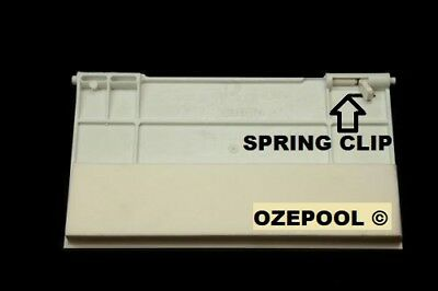 Weir Door Paramount  Fits Sp5000 Skimmer Box  # 624077 With Clips