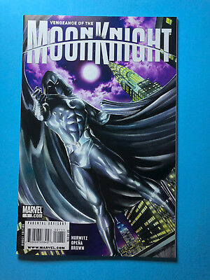Vengeance of the Moon Knight 1 Marvel 11/09 Alex Ross Variant Cover A3