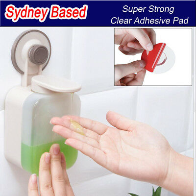 Wall-mounted liquid soap dispenser shampoo conditioner Super Strong Suction Cup