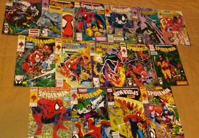 Spider-Man Todd McFarlane complete run set lot 1-16 1990 1991 NM/VF (without 15)